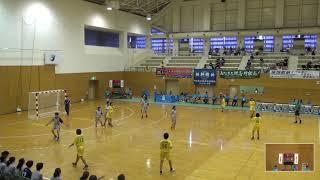 2019年IH ハンドボール 女子 1回戦 富士(静岡)VS 北海道札幌月寒(北海道)