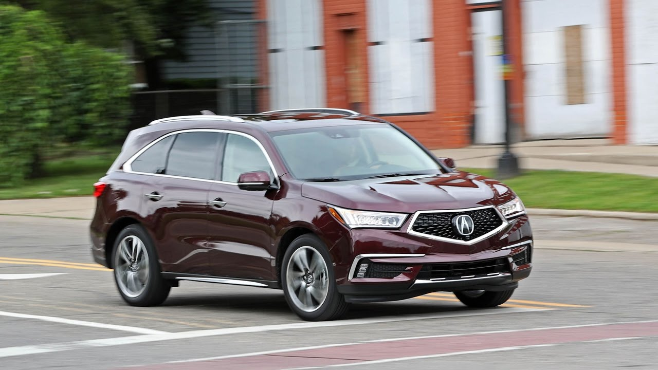 2017 Acura Mdx Sh Awd Review