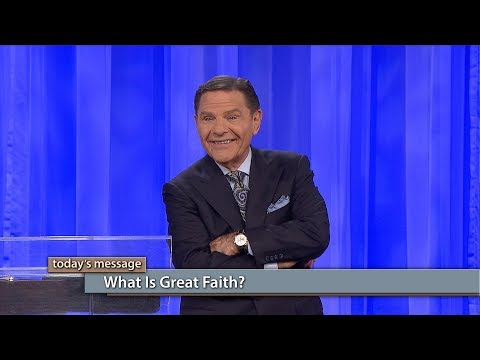 What Is Great Faith?