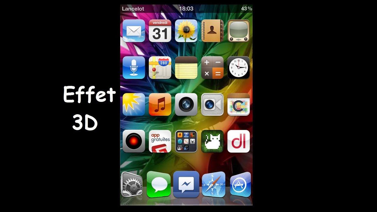 fond d'ecran 3d cydia