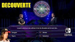 QUI VEUT GAGNER DES MILLIONS GAMEPLAY DECOUVERTE - SWITCH screenshot 1
