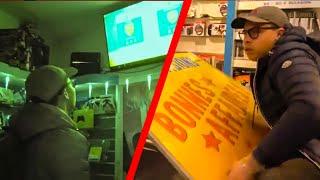 PASSER LA NUIT DANS UN MAGASIN DE JEUX VIDEOS