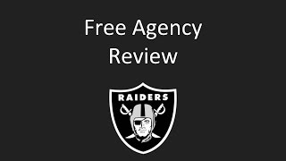 Raiders Free Agency Review