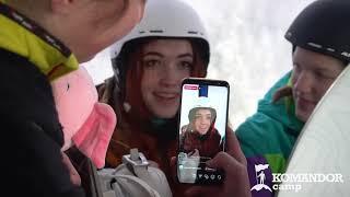 Горнолыжный лагерь Командор Горные лыжи и сноуборд Обучение с любого уровня подготовки