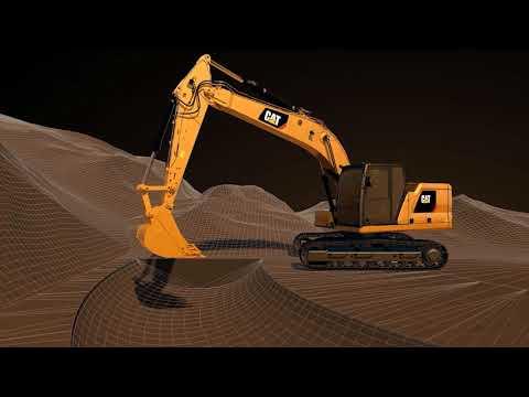 Next Generation Excavator: Cat® Connect Technology - Grade 3D Source