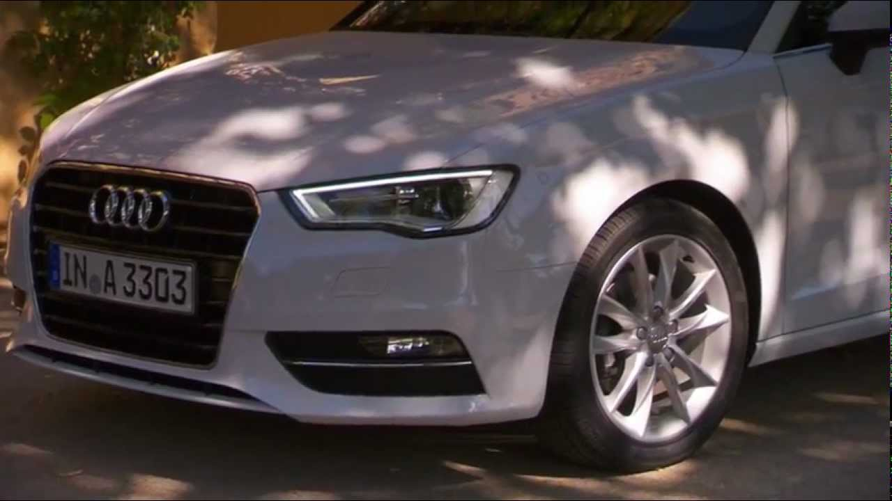 audi a3 2012 2 0 tdi gletscherweiss driving exterior interior youtube. Black Bedroom Furniture Sets. Home Design Ideas