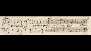 """Stradella, S. Giovanni Battista - Aria Battista: """"Deste un tempo"""" (score)"""
