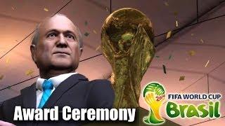 FIFA 2014 World Cup Champion Award Ceremony