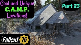 Fallout 76: Cool and Unique C.A.M.P. Locations! Part 23