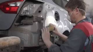 Ford Focus ремонт заднего крыла