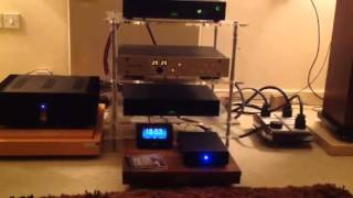 My Hi-End system playing Richard Thompson- Wall of Death