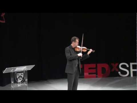 A Traveller's Guide to Busking: David Juritz at TEDxSPS