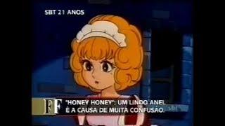 Em 2002, o SBT fez uma matéria falando sobre o anime Honey Honey. Esta matéria possui vários trechos dublados do primeiro episódio deste anime e foi ...