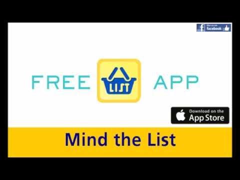 Mind the List - Shopping List App - It's Free