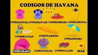 Codigos de la maquina Havanna - Mundo gaturro (bien explicado)