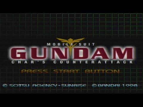 Psx Mobile Suit Gundam Char S Counterattack All Cutscenes Youtube