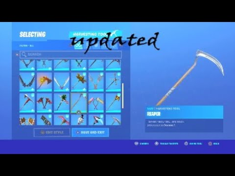 How To Get The WHITE Reaper Pickaxe For Free | *UPDATED* Chapter 2 Season 2