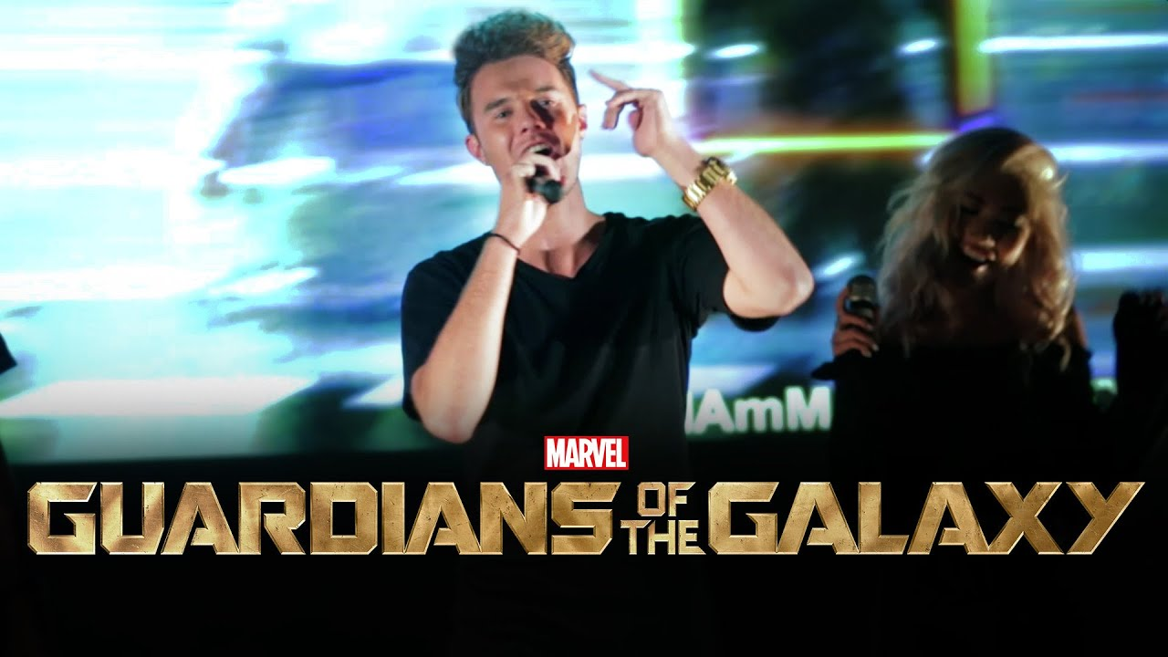 Guardians of the Galaxy - Hooked on a Feeling - Bart Baker #1