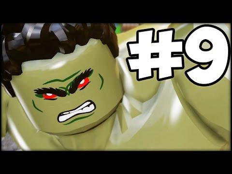 LEGO MARVEL'S AVENGERS - Part 9 - Hulk vs. Hulkbuster!
