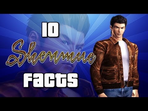 10 Shenmue Facts