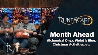 RuneScape Month Ahead Q&A (Dec 2018) - Alchemical Onyx, Violet is Blue, Christmas Event