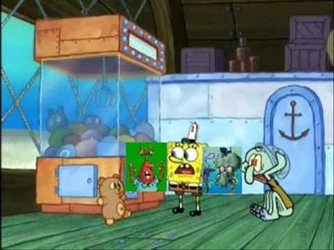 YouTube Poop:  Squidward Keeps Getting RickRoll'd