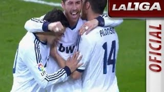 La Liga | Real Madrid - Athletic Club (5-1) | 17-11-2012 | J12 | Resumen