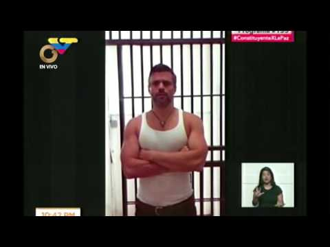 Diosdado Cabello presentó video con fe de vida de Leopoldo López