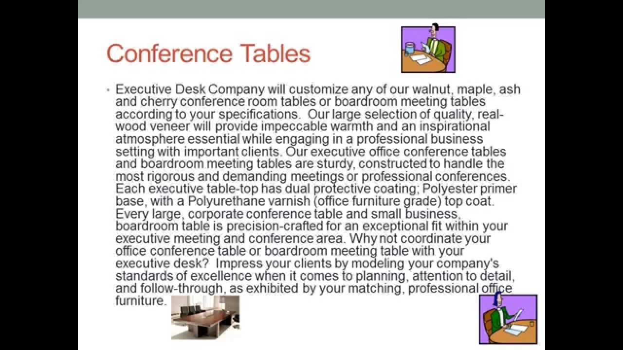 Executive Desk Conference Tables