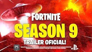 TRAILER SEASON 9 FORTNITE FILTERED! SKINS BATTLE PASS 9! (Season 9 Fortnite Battle Royale)