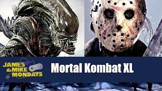 Mortal Kombat XL with LEATHERFACE, JASON, ALIEN, PREDATOR (PS4) James & Mike Mondays