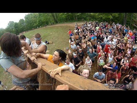 2015 Warrior Dash Ohio Run Through (with fast forward)