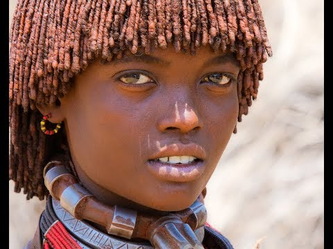 Craziest hairstyles of the girls from the tribes of Angola
