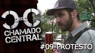 POLÍCIA USA VIOLÊNCIA EM PROTESTO - Chamado Central 9