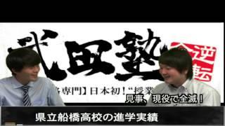 千葉県立船橋高等学校の評判と進学・合格実績