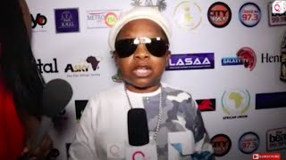 Gambar cover Saheed Osupa, Chinedu Ikedieze, other stars speak to QedTV on AFRIMA 2017 red carpet