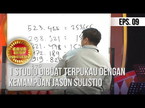 GONG SHOW INDONESIA - 1 Studio Dibuat Terpukau Dengan Kemampuan Jason Sulistio