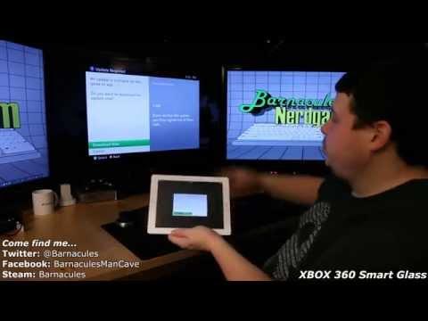 Microsoft XBOX 360 SmartGlass on Apple iPad - Internet Explorer, Forza Horizon
