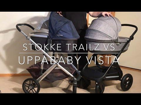 Stokke Trailz VS Uppababy Vista. Mechanics, Comfort, Use