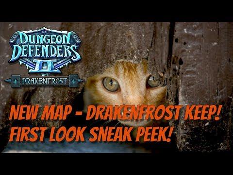 DD2 New Map Sneak Peek! Drakenfrost Keep!