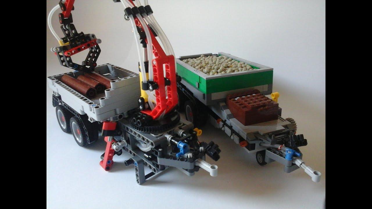 Lego Technic Anhänger Moc Youtube