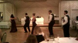 wedding party rendition of new edition s if it isn t love