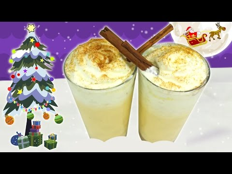 How To Make Eggnog (Non-alcoholic) | Quick And Easy Christmas Recipe | DIY Holiday Treats