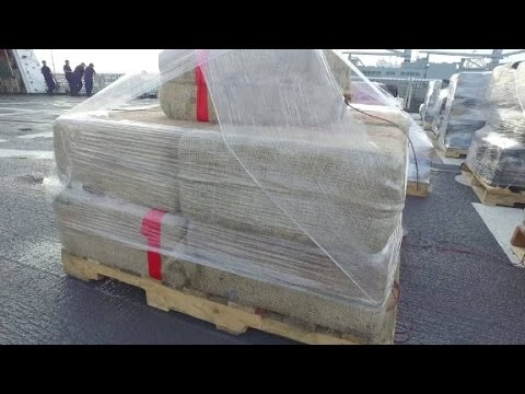 Coast Guard brings home record cocaine haul