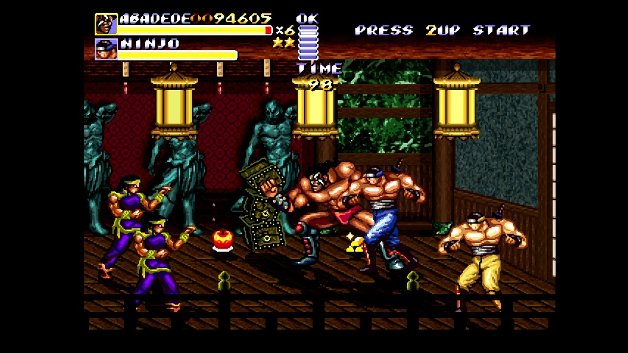 Streets of Rage Remake - Abadede playthrough (2019)