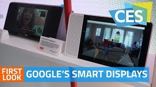 Google's Smart Displays First Look