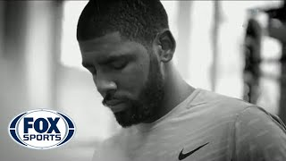 Behind the Scenes: Kyrie Irving rehabs NBA Finals injury