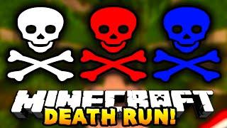 Minecraft DEATH RUN! (Epic Traps!) w/Preston, Vikkstar123, Woofless & Lachlan