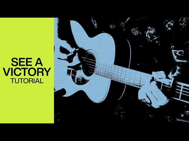 See A Victory | Official Acoustic Guitar Tutorial | At Midnight | Elevation Worship