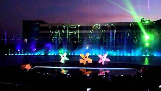 Manila Ocean Park - Musical Fountain Show (Part 1)